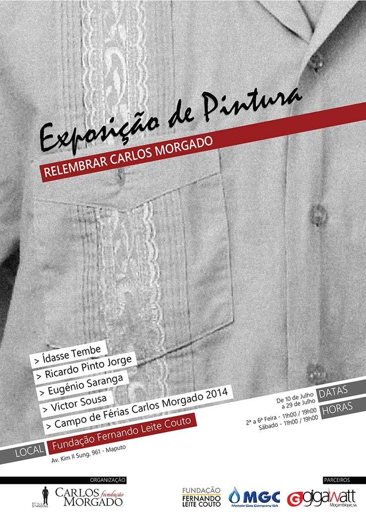 Relembrar Carlos Morgado | Sarau Cultural e Lançamento de Livro